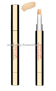 Clarins Instant Light Brush-On Perfector rozjasňující korektor 01 Pink Beige 2ml