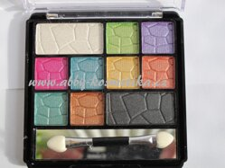 Amuse 10 Color Eyeshadow Diamond Palette odstín Pixi 13 g