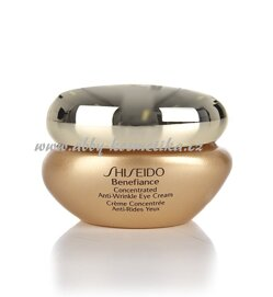 Shiseido Benefiance Concentrated Anti-Wrinkle Eye Cream výživný oční krém proti vráskám 15 ml