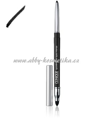 Clinique Quickliner for Eyes Intense tužka na oči odstín 01 Intense Black 0,28 g