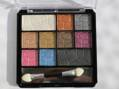 Amuse 10 Color Eyeshadow Diamond Palette odstín Smokey 13g
