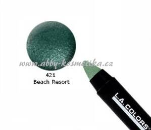 L.A.Colors oční stíny a tužka na oči Jumbo Eye Pencil odstín Beach Resort 3,8 g