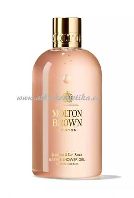 Molton Brown Jasmine & Sun Rose Bath & Shower Gel sprchový gel s vůní jasmínu a růže 300 ml