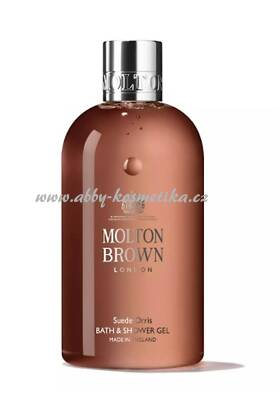 Molton Brown Suede Orris Bath & Shower Gel 300ml sprchový gel s výtažky z kořene kosatce 300 ml