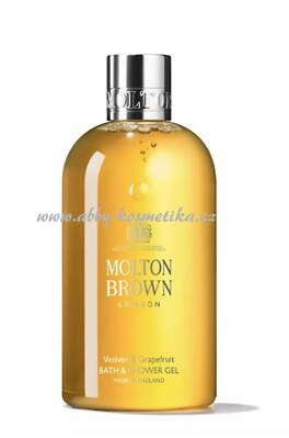 Molton Brown Vetiver & Grapefruit Bath and Shower Gel sprchový gel s vůní vetiveru a grepu 300 ml